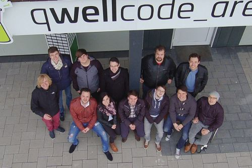 Qwellcode Team in early 2017